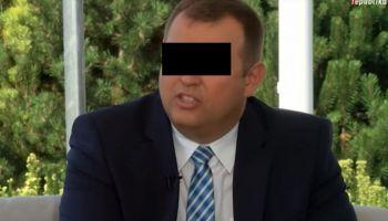 Sławomir Z. zatrzymany przez CBŚP / fot. screen TV Republika