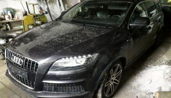 Audi Q7 zostało skradzione na terenie Jeleniej Góry | fot.: KPP Zgorzelec