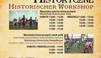 Rozpiska warsztatów historycznych - Jakuby 2018!
