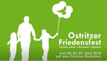 Mieszkańcy Ostritz organizują Święto Pokoju.