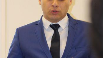 Radny powiatu zgorzeleckiego Szymon Mikołajczyk