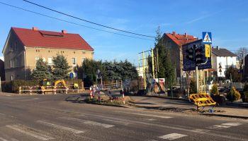 Przebudowa sygnalizacji świetlnej przy ul. Reymonta i Andersa w Zgorzelcu | fot.: materiały prasowe Starostwa Powiatowego