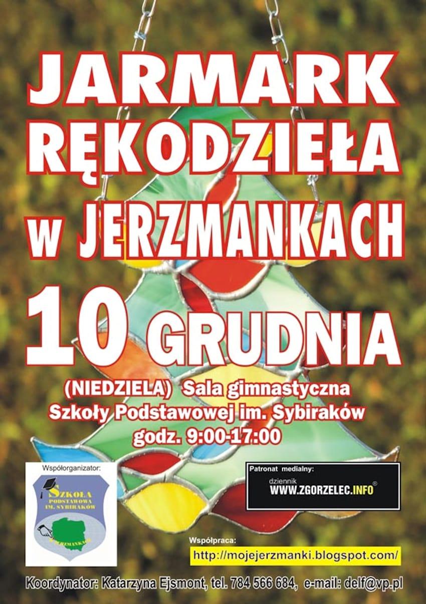 10 grudnia zapraszamy do Jerzmanek na Bożonarodzeniowy Jarmark Rękodzieła | materiały prasowe organizatorów