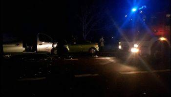 Wypadek drogowy przy ul. Słowiańskiej w Zgorzelcu