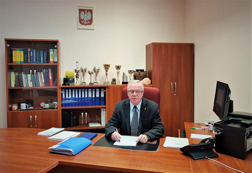 Naczelnik Urzędu Skarbowego w Zgorzelcu Władysław Sikora / fot. archiwum własne
