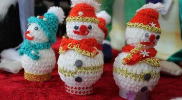 Bożonarodzeniowy Jarmark Rękodzieła w Jerzmankach - zdjęcie nr 29