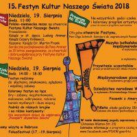 15. Festyn Kultur Naszego Świata