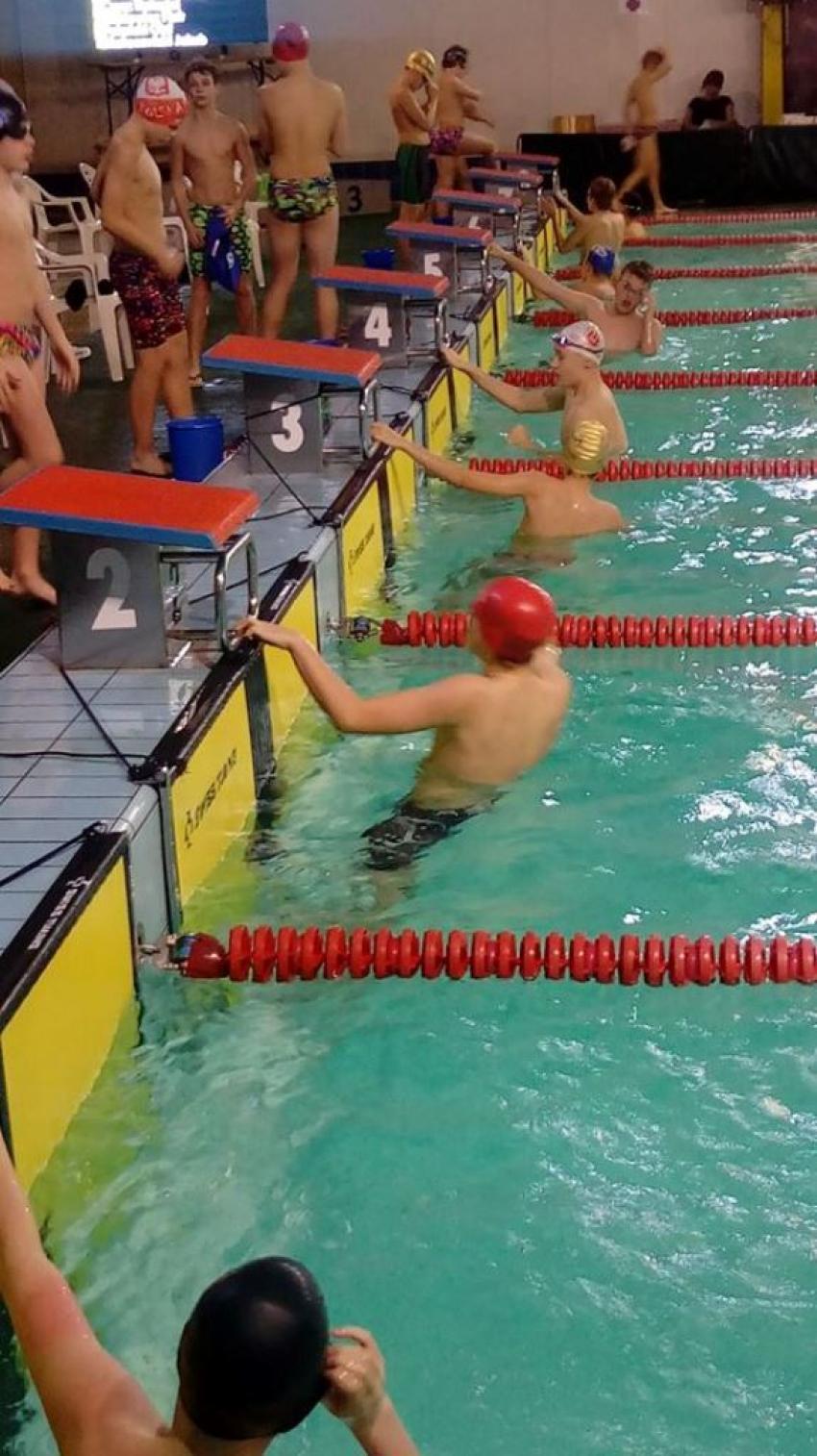 Zimowe Mistrzostwa Okręgu Dolnośląskiego w pływaniu | fot.: materiały prasowe UKS Energetyk Zgorzelec