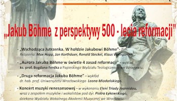 Konferencja pt. Jakub Böhme z perspektywy 500-lecia reformacji| Materiały prasowe MBP.