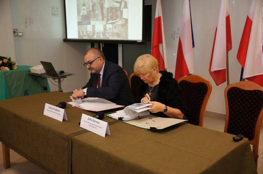 Zgorzelecki szpital otrzymał dofinansowanie na realizację dwóch projektów.   fot.: FB Rafał Gronicz - Burmistrz miasta Zgorzelca