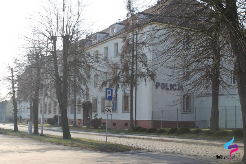 Komenda Powiatowa Policji w Zgorzelcu.