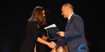 Najlepsi uczniowie odebrali stypendia i nagrody burmistrza cz. 1 - zdjęcie nr 98