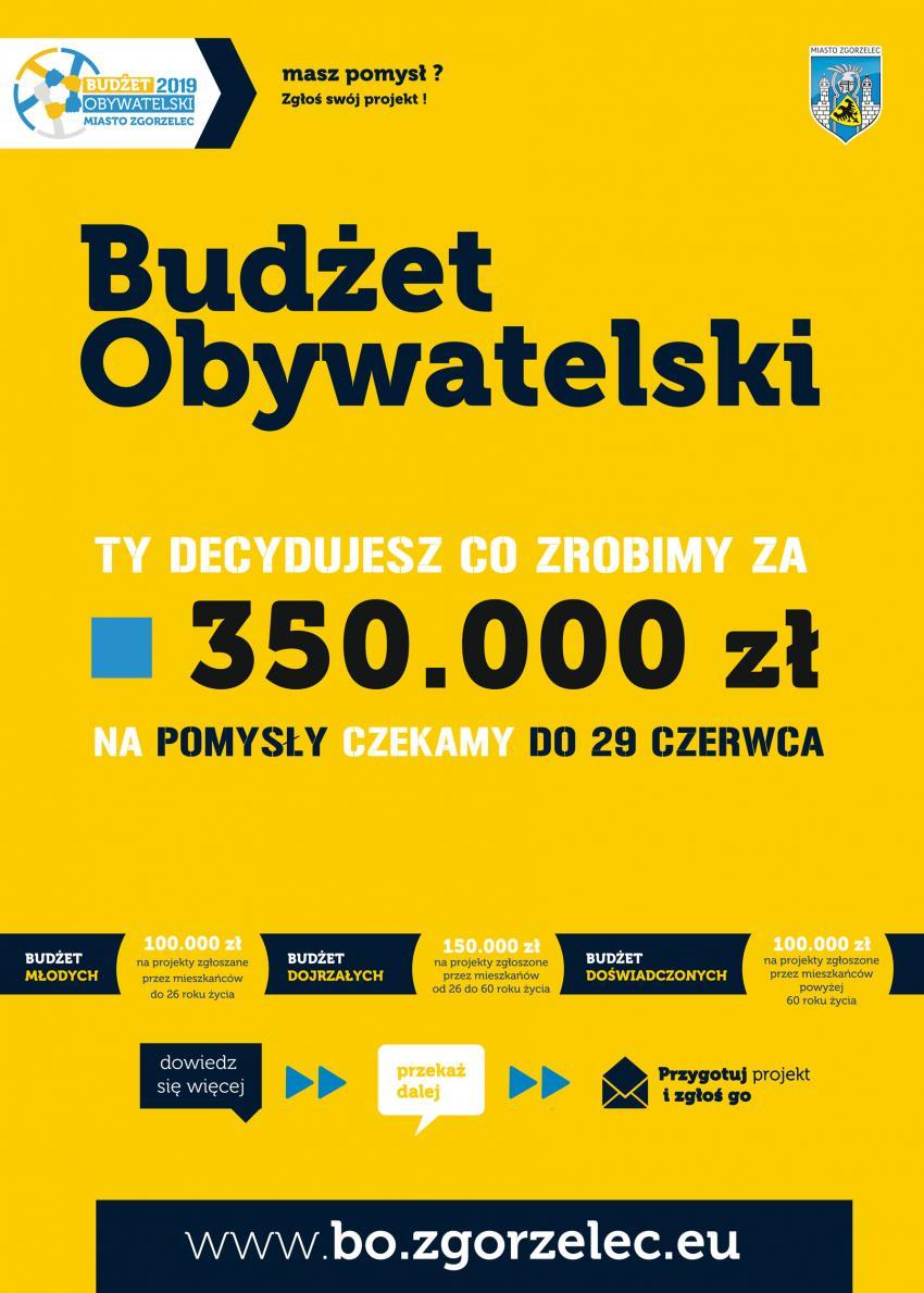 Startuje Budżet Obywatelski 2019 Miasta Zgorzelec!