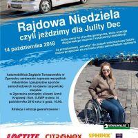 Rajdowa Niedziela 2018, czyli jeździmy dla Julity Dec!