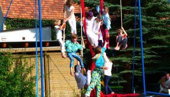 Dzisiaj rusza tygodniowy obóz cyrkowy dla młodzieży z Polski i Niemiec (fot.: Florian Gaertner)