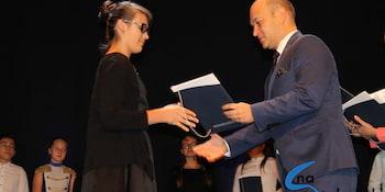 Najlepsi uczniowie odebrali stypendia i nagrody burmistrza cz. 1 - zdjęcie nr 59