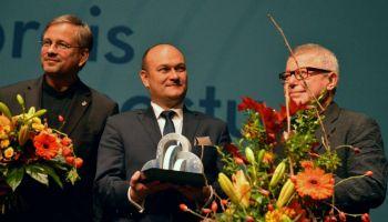Daniel Libeskind jest 23. laureatem Międzynarodowej Nagrody Mostu