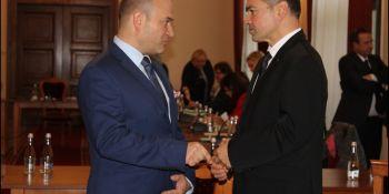 Inauguracyjna sesja Rady Miasta Zgorzelec - zdjęcie nr 47