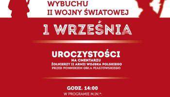 Burmistrz Miasta Zgorzelec zaprasza do udziału w obchodach 79. rocznicy wybuchu II Wojny Światowej