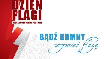 """Flagę bezpłatnie będzie można odebrać 30 kwietnia o godzinie 12.00 i 17.00 przy """"ryneczku kwiatowym"""" w Zgorzelcu."""