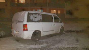 Odzyskany w Nowogrodźcu Mercedes Vito / fot. KPP Zgorzelec
