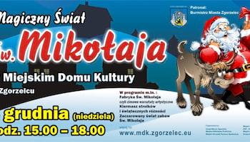 Magiczny świat św. Mikołaja w Miejskim Domu Kultury w Zgorzelcu | fot.: materiały prasowe MDK