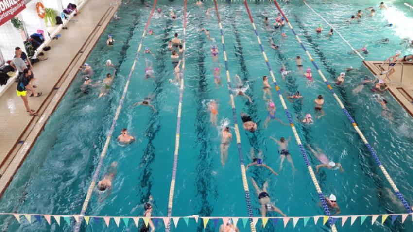 W weekend mieszkańcy oraz turyści będą mogli skorzystać z pływalni Centrum Sportowo Rekreacyjnego w Zgorzelcu. fot.:UM Zgorzelec