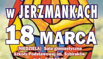 Jarmark Rękodzieła w Jerzmankach. | Plakat - organizatorzy.