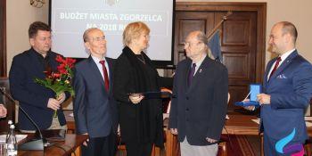 Medal Miasta Zgorzelec dla Ryszarda Kosińskiego - zdjęcie nr 1
