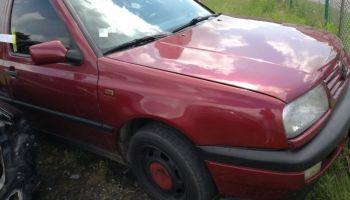 Skradziony Volkswagen Vento (fot.: KPP Bolesławiec)