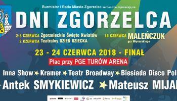 Tegoroczny Finał Dni Zgorzelca odbędzie się przy hali PGE Turów Arena.