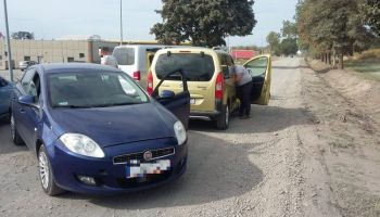 Zdjęcie z zatrzymania 23-latka (fot.: KPP Zgorzelec)