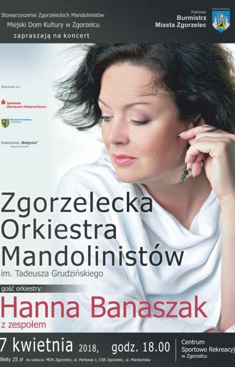 Zgorzelecka Orkiestra Mandolinistów i Hanna Banaszak