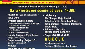 Program 26. finału WOŚP w Zgorzelcu