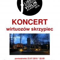 Koncert wirtuozów skrzypiec w byłym Stalagu VIII A