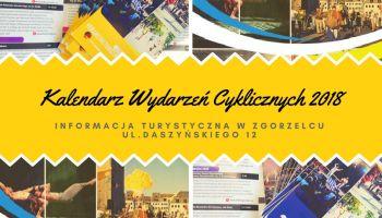 Kalendarz jest dostępny w Punkcie Informacji Turystycznej przy ul. Daszyńskiego 12 w Zgorzelcu.