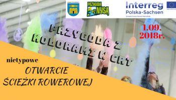Zaproszenie na imprezę towarzyszącą otwarciu ścieżki rowerowej w Gminie Zgorzelec