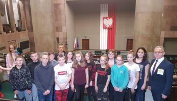 Uczniowie z Gminy Sulików zwiedzili Warszawę.  materiały prasowe Gminy Sulików