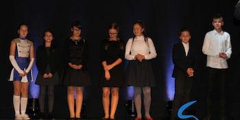 Najlepsi uczniowie odebrali stypendia i nagrody burmistrza cz. 1 - zdjęcie nr 56