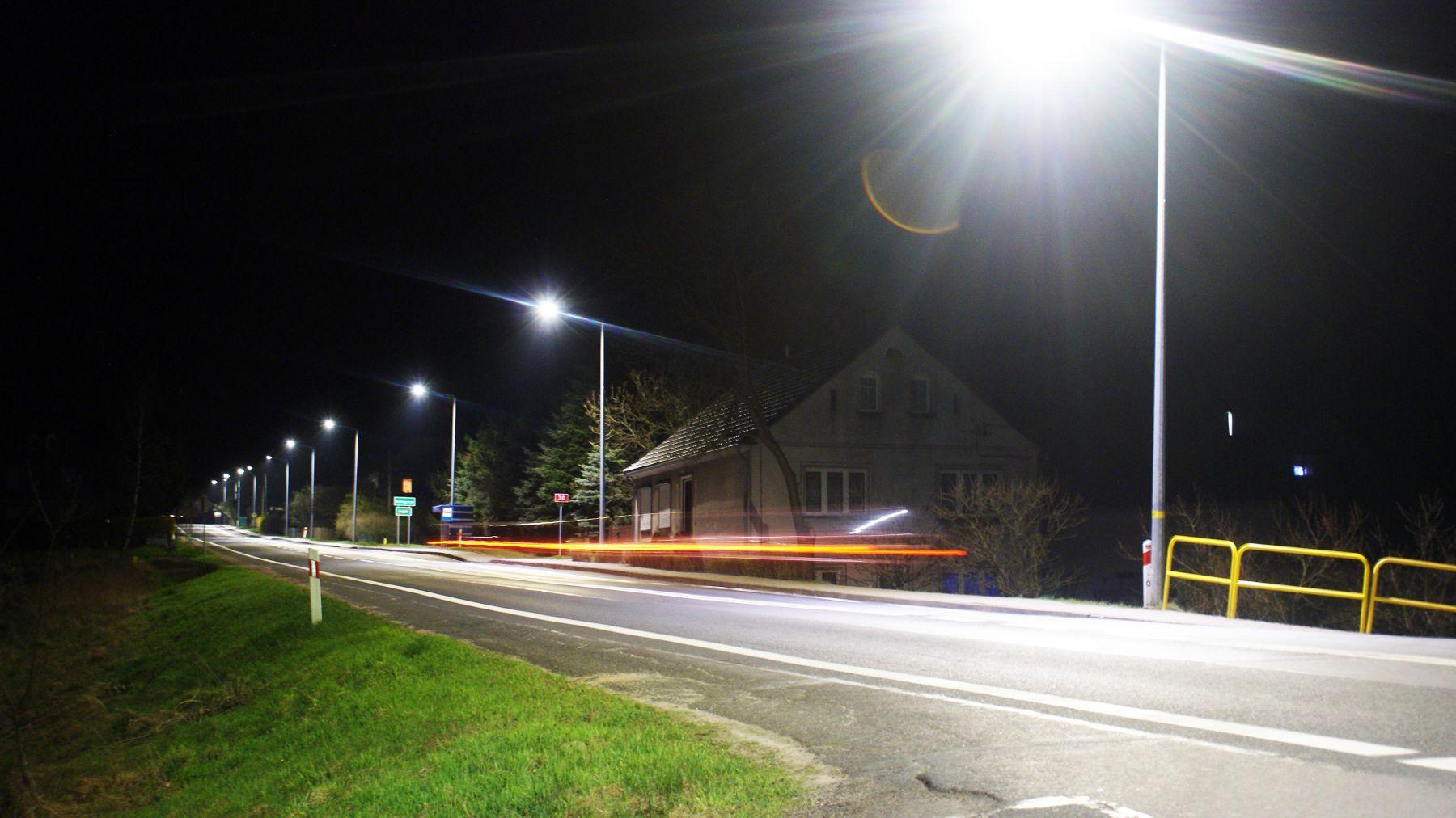 Jest Jaśniej I Bezpieczniej Nowe Oświetlenie Uliczne W