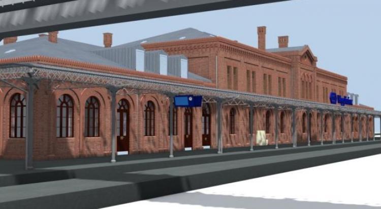 Tak będzie wyglądał dworzec kolejowy w Węglińcu po przebudowie. Zobacz wizualizację! - zdjęcie nr 13