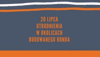 Utrudnienia w ruchu przy ul. Bohaterów Getta