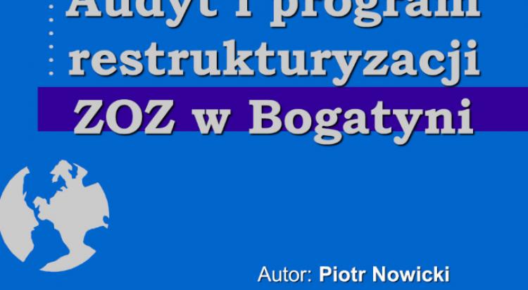 Audyt i program restrukturyzacji szpitala w Bogatyni - zdjęcie nr 11