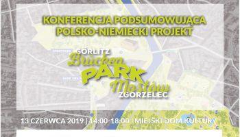 """Zaproszenie na konferencję podsumowującą projekt pn. """"Park Mostów"""""""