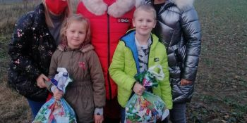 Mikołaj odwiedził gminne miejscowości - zdjęcie nr 8