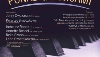 Muzyka Ponad Granicami – zaproszenie na koncert