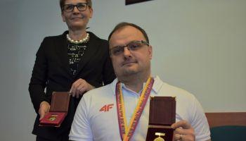 Małgorzata Niedźwiecka i Piotr Kosewicz / fot. Starostwo Powiatowe w Zgorzelcu