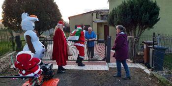 Mikołaj odwiedził gminne miejscowości - zdjęcie nr 10