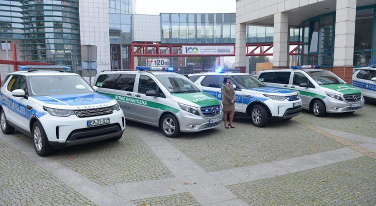 Nowe samochody w polsko-niemieckich placówkach straży granicznej - zdjęcie nr 16
