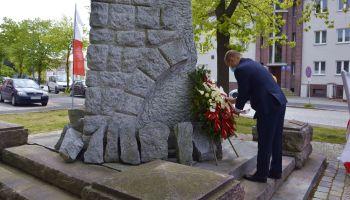 Symboliczne upamiętnienie 229. rocznicy uchwalenia Konstytucji 3 Maja